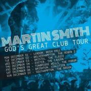 Martin Smith Announces 'God's Great Club Tour'