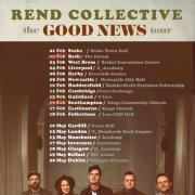 Rend Collective Good News UK Tour Kicks Off On 1st Feb