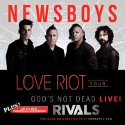 Newsboys Set Dates For 2017 Love Riot Tour