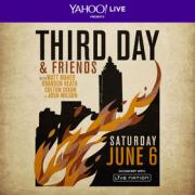 Third Day To Perform Live Online Concert With Yahoo! Live/Live Nation