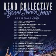 Rend Collective Unveil New Song In Response To Manchester Attack & Announce Major UK Tour