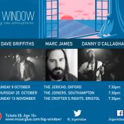 Dave Griffiths, Danny O'Callaghan & Marc James In Big Window UK Club Tour