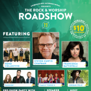 Rend Collective, Steven Curtis Chapman, Francesca Battistelli For US Rock & Worship Roadshow