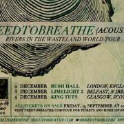 Tickets Go On Sale For 3-Date Needtobreathe UK Tour