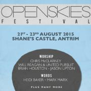 Chris McClarney, Jason Upton & Brian Houston For N.Ireland's Openskies Festival
