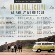 Rend Collective Kick Off 'As Family We Go' Headlining Tour Visiting US, UK & Ireland