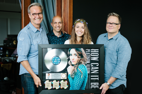 Lauren Daigle's 'How Can It Be' Certified Platinum