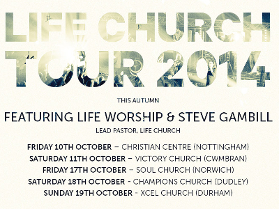 LIFE Church To Tour UK Following Success Of 'Dance Again' Album