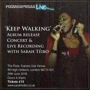 Multi Award Winning Gospel Singer Sarah Teibo Announces Release Concert For Second Album 'Keep Walking'